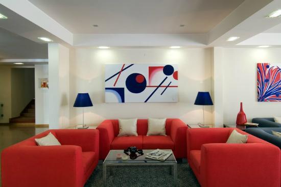 Hotel Cruz Alta: Hall
