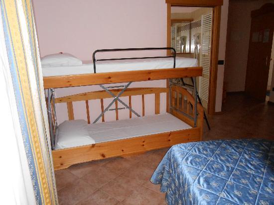 Hotel Vittoria : la nostra camera