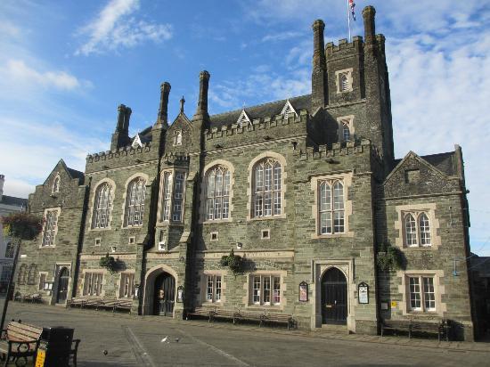 Tavistock, UK: town hall