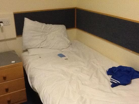 Weston Hall: letto comodo
