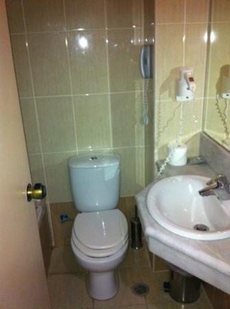 Lomeniz Hotel : Toilette in a double room