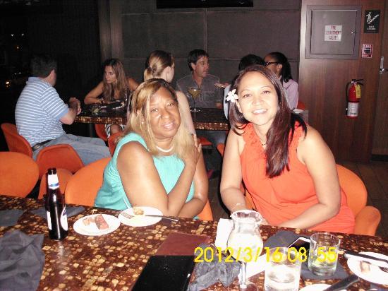 Chima Brazilian Steakhouse: The group enjoying appetizers
