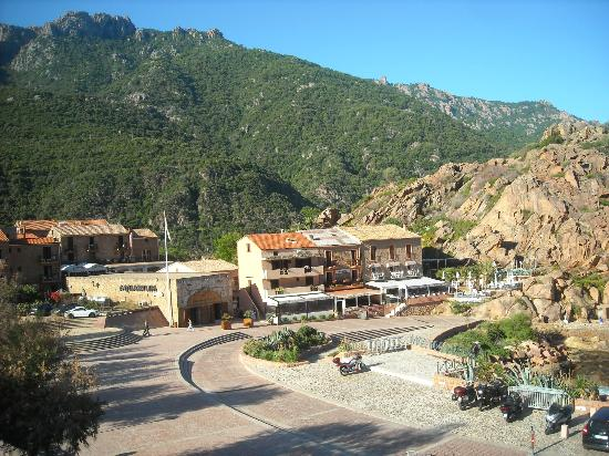Hotel Le Subrini : vue de la chambre