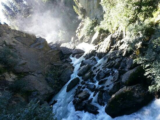 Cascate del Rutor: la prima cascata