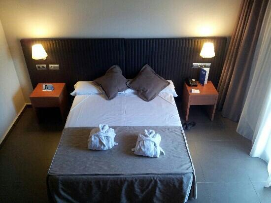 Hotel Balneari: habitaci?n doble est?ndar, vistas a la monta?a