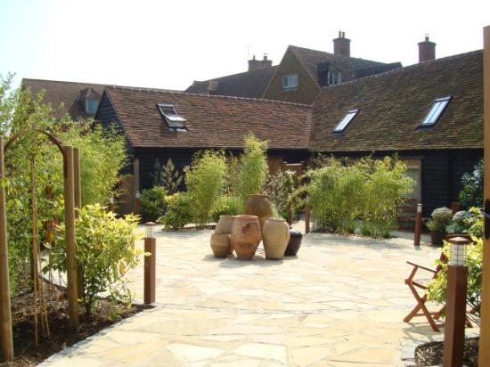 The Barn at Roundhurst: View from main reception