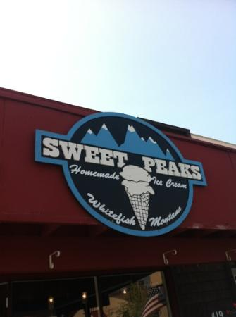 Sweet Peaks Ice Cream: yum