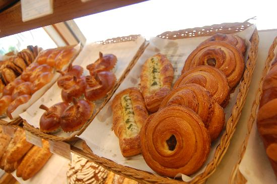 Ops Bakery Haeundae: pastries (some with a Korean twist)