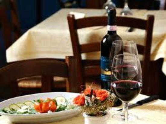 La Mensa del Conte: antipasto e vino