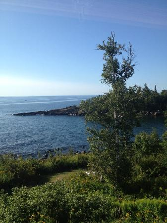 Cove Point Lodge: View out the room - much more beautiful in person than iPhone!