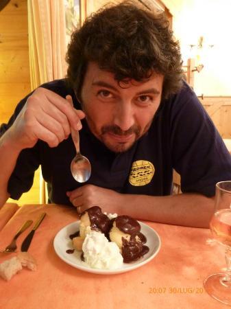 Restaurant du Grand-mont: Chantilly delizioso