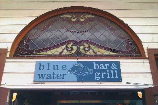 Blue Water Bar & Grill : Entrance