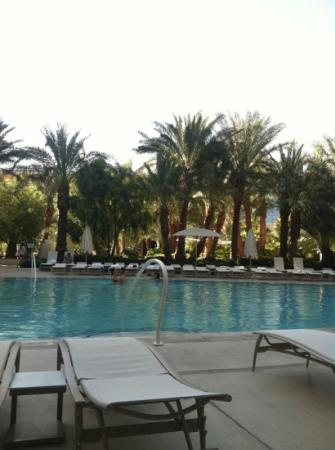 ARIA Resort & Casino: one of the three guest pools