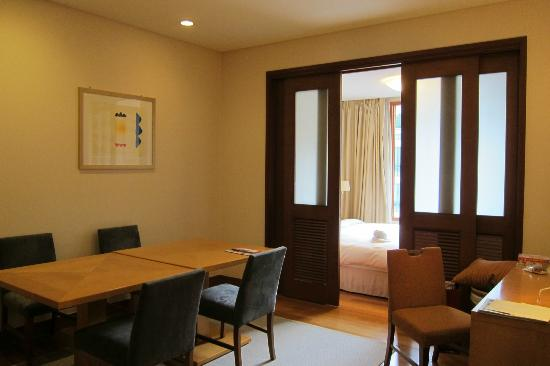 Somerset Palace Seoul One Bedroom With Sliding Door Off The Dining Room In 1627