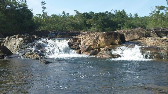 Dream Valley Jungle Lodge: bagnaide dans la riviere