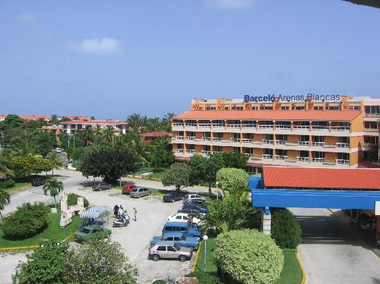 View From My Balcony Picture Of Barcelo Solymar Arenas