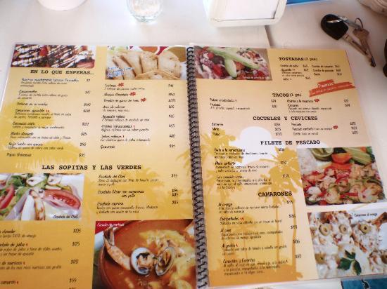 Menu picture of el fish fritanga cancun tripadvisor for Stellas fish cafe menu