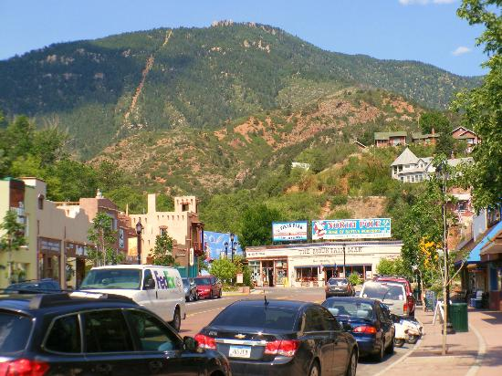 Manitou Springs, Колорадо: The Incline at Manitou