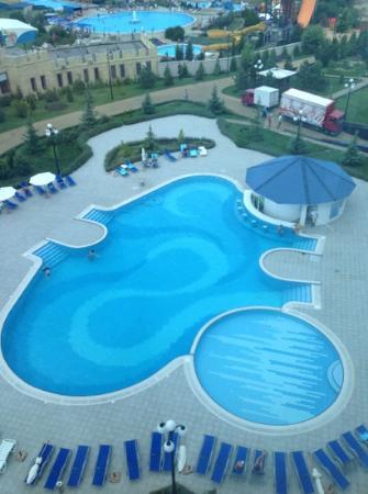 Aquamarine Apartments & Hotel : бассейн