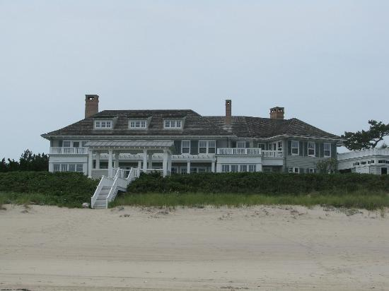 Main Beach: One of the many homes along the waterfront