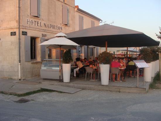 Ile d'Aix, Francia: LA TERRASSE DU RESTAURANT