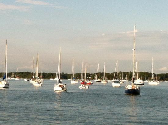 Argia Cruises: Boats we sailed by on The Argia.