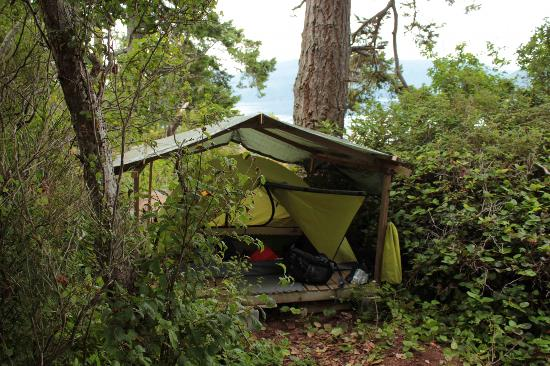 Discovery Expeditions Day Tours: My favourite tent