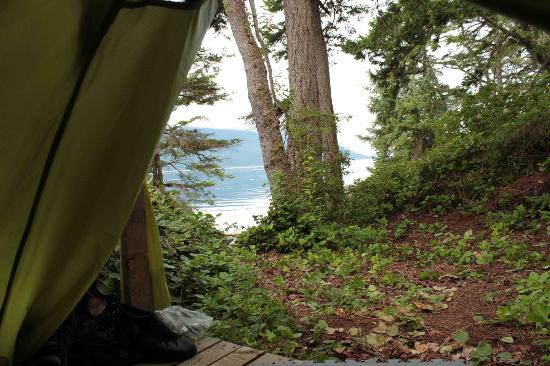 Discovery Expeditions Day Tours: A tent with a view...