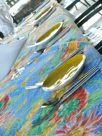 The Parker House Inn and Restaurant: Table setting
