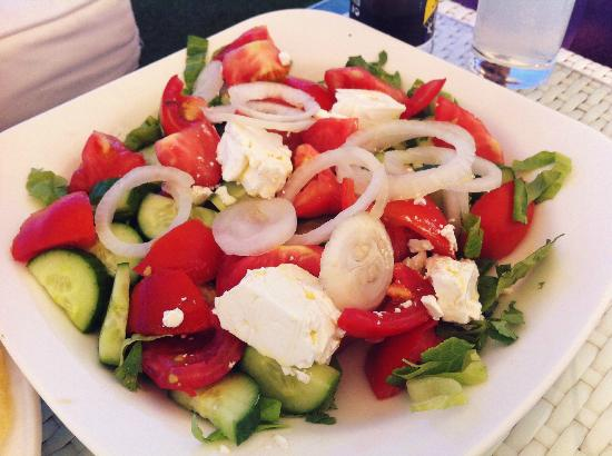 Anemos: greek salad