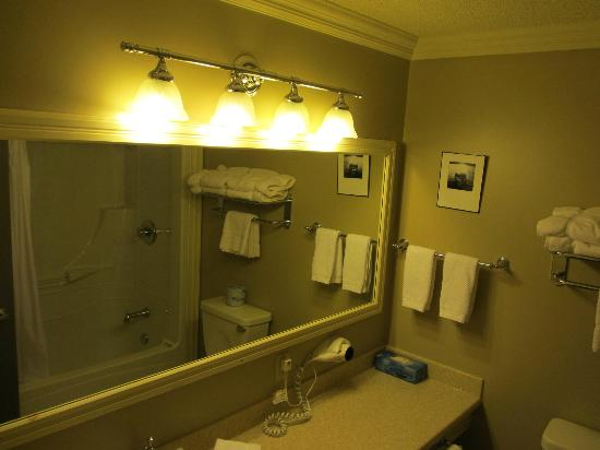 The Harbour Quarters Inn: The bathroom