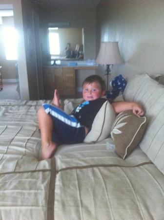 ذا ريتريت آت فوكسبورو: Huge king size bed and room