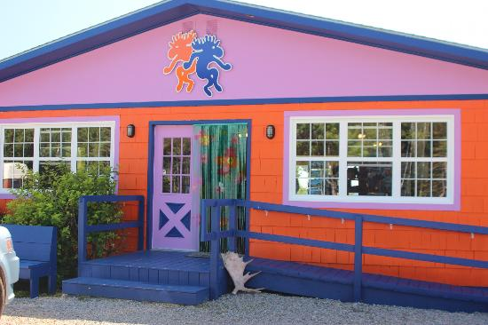 The Dancing Moose Cafe, Cabot Trail, Nova Scotia