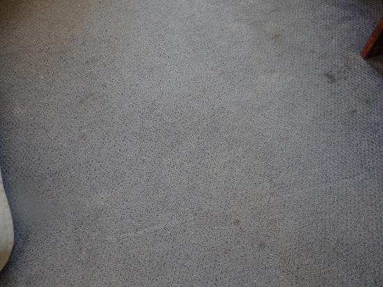 Hotel du Moulin Vert : nasty carpet
