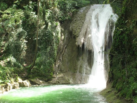 Cascata delle Marmore: Il terzo salto
