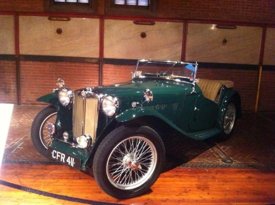 Larz Anderson Auto Museum - Museum of Transportation: MG TC