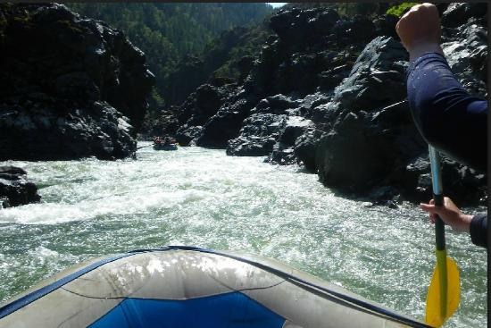Momentum River Expeditions: Heading into the white water