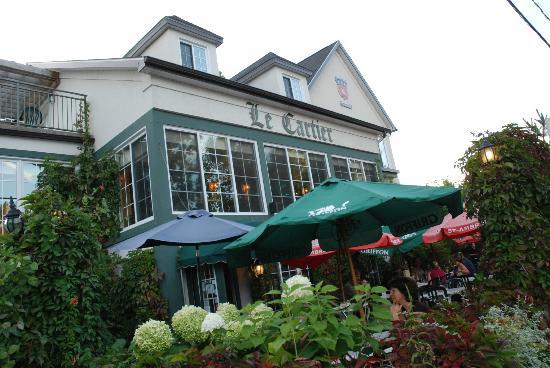 Le Cartier St-Malo : Vue extérieur coté Cartier