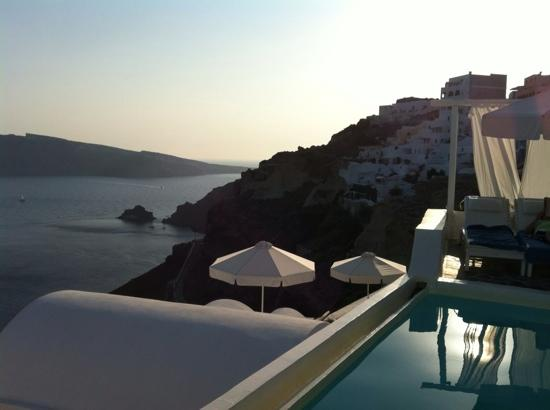 Kima Villa: Caldera's view