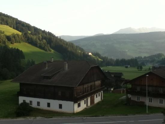 Tuscherhof: panorama dalla finestra