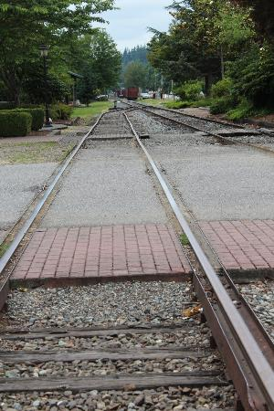 Northwest Railway Museum: Railway rails