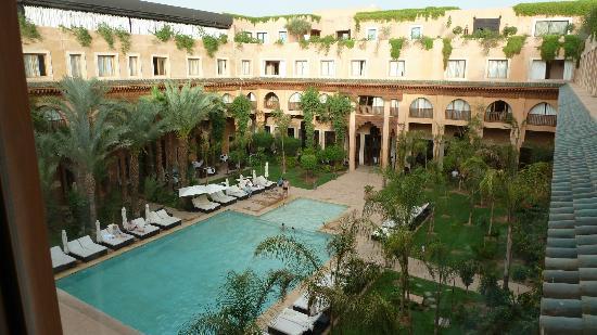 Rooftop Picture Of Les Jardins De La Koutoubia Marrakech