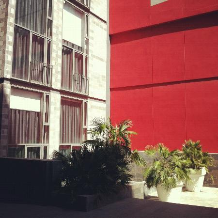 La Republica Apartments: Apartments overlooking courtyard