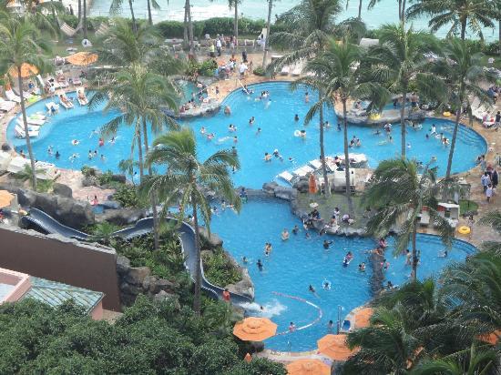 Sheraton Waikiki: Poolanlage