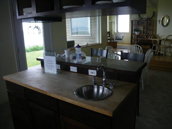 Driftwood Inn & Homer Seaside Lodges: The kitchen