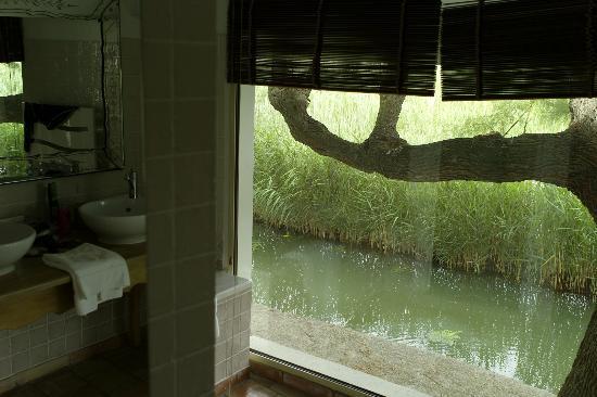 Mas de la Fouque : Salle de bains