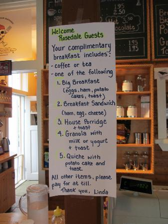 Philip's Cafe : The breakfasts that Rosedale Manor guests get to enjoy!