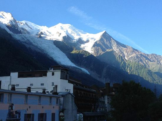 Hotel Le Chamonix: Every morning /evening a different view