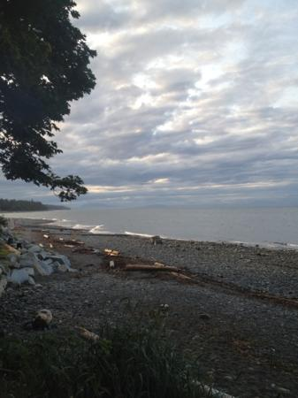 Bates Beach Oceanfront Resort: picture from campsite