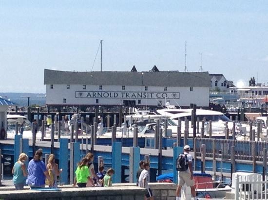 Star Line Mackinac Island Ferry: Arnold Ferry